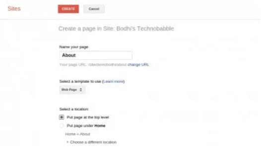 طراحی سایت در گوگل