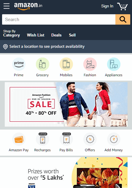 Amazon-Ecommerce-Website-Design